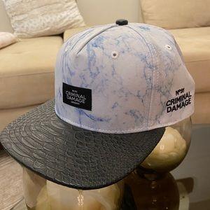 Brand new Criminal Damage baseball cap
